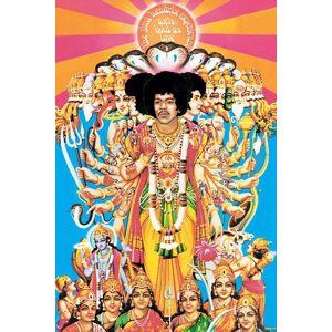 "Axis Jimi Hendrix ""Axis bold as love"" - Plakat 25"