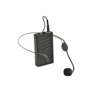 Headset med Bodypack till QTX QX15-PA och QTX QX12PA - 175 MHz