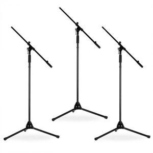 Auna 3er Set Malone ST-12-MS Mikrofonstativ