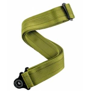 D'Addario Accessories 50BAL08 Auto Lock Strap - Moss