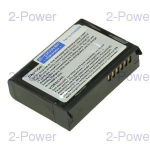 2-Power PDA Batteri Dell 3.7v 2200mAh (U6191)