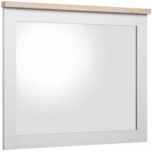 Troja Speil 80x65 - Hvit