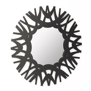 LaForma - Mitchell Speil Ø60 - Svart ramme