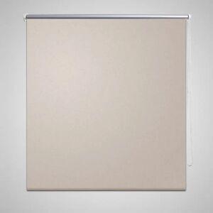 vidaXL Rullegardin Blackout 120 x 175 cm Beige