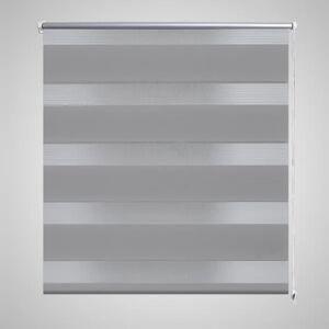 vidaXL Zebra Rullegardin 120 x 175 cm Grå