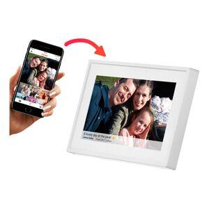 "Intersales Frameo Digital Fotoramme - Hvit 7"""