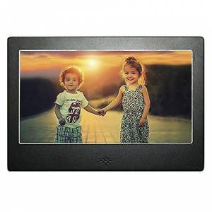 TRIXES DIGIFLEX 7' High Resolution Digital Photo Frame with Blue Ba...