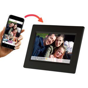 Intersales Frameo Digital Fotoramme Wifi - 7 inches Svart