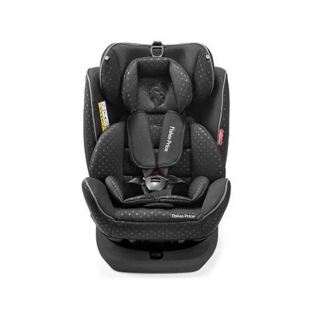 Multikids Baby Cadeira Para Auto Fisher Price Easy 360 Fix 0-36 Kgs (0,I,II,III) Preta Multikids Baby - BB573 BB573