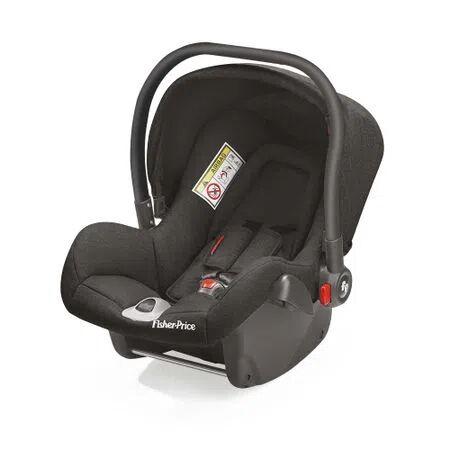 Multikids Baby Cadeira para Auto Heritage Fix 0-13 kg Fisher-Price Preto - BB568 BB568
