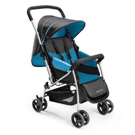 Multikids Baby Carrinho de Bebê Berço Flip Azul Multikids Baby - BB503 BB503