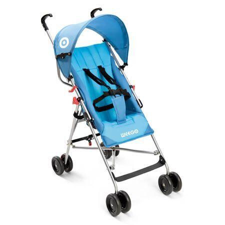 Multilaser Carrinho de bebê guarda-chuva Weego Way Azul BB507