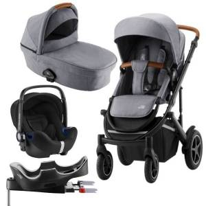 Britax Smile III Travelsystem - Frost Grey