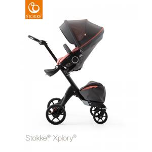 Stokke® Xplory Black Athleisure, Coral