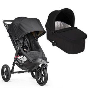 Baby jogger City Elite Charcoal Denim m/Delux bag farge Charcoal