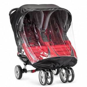 Baby jogger Regntrekk Til Dobbel City mini/miniGT