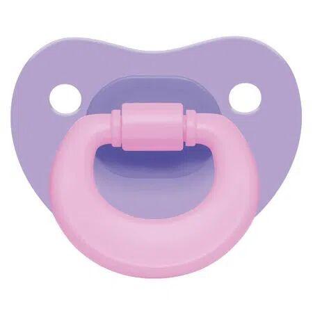 Multikids Baby Chupeta Colors Pp Roxa Ortoflex Tam 2 (6-18 M) Multikids Baby - BB130 BB130