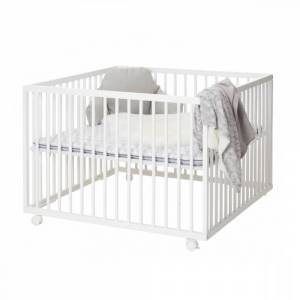 BabyDan, Comfort Lekegrind 97x97, hvit