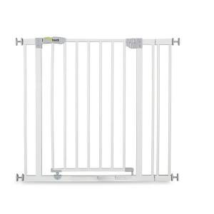 Sikkerhetsgrind, Open 'n Stop Safety Gate + 9 cm forlengning, White, Hauck (Z000164598)
