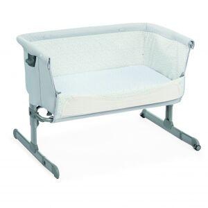 Chicco Next2Me seng/bedside crib, light grey