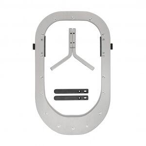 Kidsmill, newborn frame+ adapter, solid grey