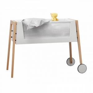 Leander, Linea Side by side seng m/madrass, eik