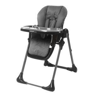 Titanium Baby, regulerbar høystol, dark grey