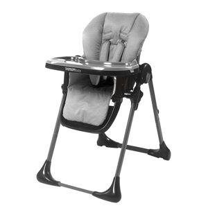 Titanium Baby, regulerbar høystol, light grey