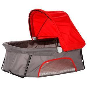 Diono Dreamliner Travel Bassinet Red