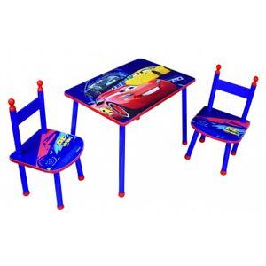Disney Cars 3 bord med 2 stolar