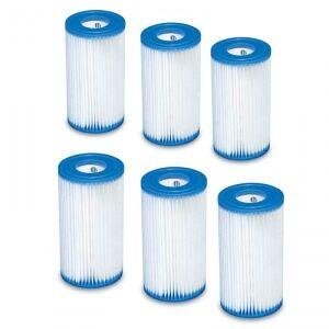 Intex Filter A, 6-Pack, Intex Tilbehør Intex type A