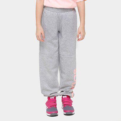 Cala Adidas Lk Lin Sweat Pants Infantil - Masculino