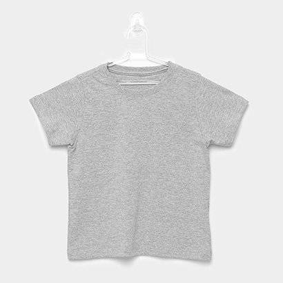 Camiseta Blank Basic Infantil - Masculino