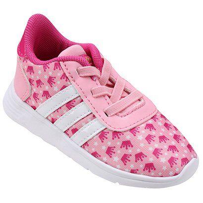 Tnis Adidas Lite Racer Princess Infantil - Feminino