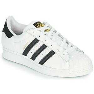 adidas  SUPERSTAR J  Barn  Dreng  Sko  Sneakers barn B 36 Hvid