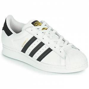 adidas  SUPERSTAR J  Barn  Dreng  Sko  Sneakers barn B 35 1/2 Hvid