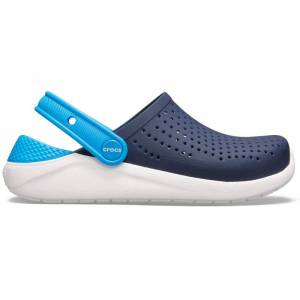 Crocs Kid's LiteRide Clog Blå Blå US J1/EU 32-33