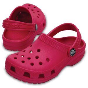Crocs Classic Clog Kids - Darkpink  - Size: 204536 - Color: tumma rosa