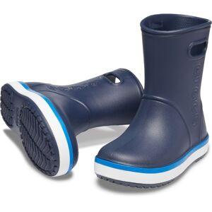 Crocs Crocband Kids Rain Boot - Navy-2  - Size: 205827 - Color: Merensininen