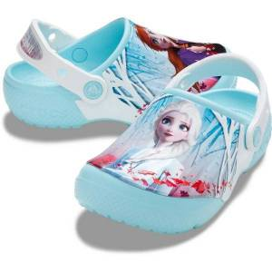 Kids Fun Lab Frozen 2 Clog - Lightblue  - Size: 206167 - Color: vaalean sin.