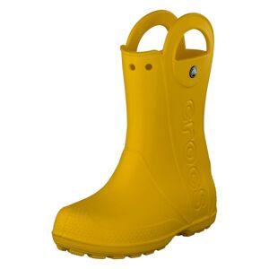 Crocs Handle It rain Boot Kids Yellow, Lapset, Kengät, Keltainen, EU 32/33