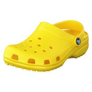 Crocs Classic Clog Kids Lemon, Lapset, Kengät, Vihreä, EU 24/25
