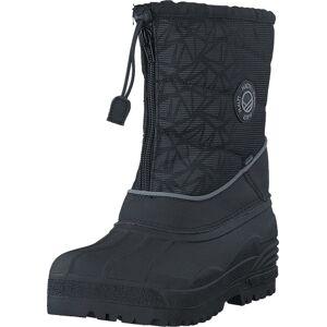 Halti Ponto DX JR Reflective Black, Kengät, Bootsit, Lämminvuoriset kengät, Musta, Lapset, 38