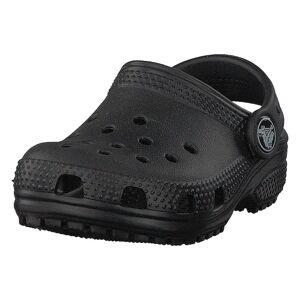 Crocs Classic Clog K Black, Lapset, Kengät, Harmaa, EU 28/29