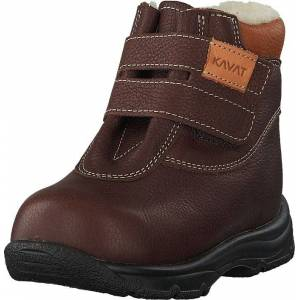 Kavat Yxhult Ep Dark Brown, Kengät, Bootsit, Vaelluskengät, Ruskea, Lapset, 19