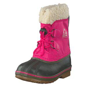Sorel Yoot Pac Nylon 693, Ultra Pink, Alpine Tundra, Shoes, harmaa, EU 25