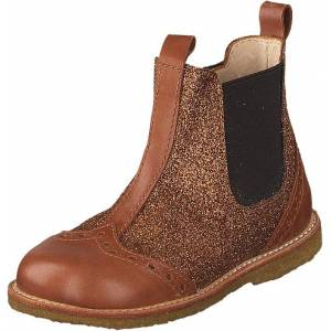 Angulus Starter Chelsea Boot With Elas Cognac/rust Gl./brown, Kengät, Bootsit, Chelsea boots, Ruskea, Lapset, 21