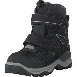 Ecco Snow Mountain Black, Kengät, Bootsit, Lämminvuoriset kengät, Musta, Lapset, 31