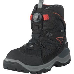 Ecco Snow Mountain Black, Kengät, Bootsit, Vaelluskengät, Musta, Lapset, 26