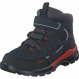 Ecco Urban Hiker Black/night Sky, Kengät, Bootsit, Vaelluskengät, Musta, Lapset, 32